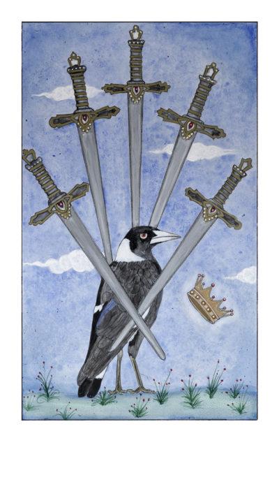 5 of swords