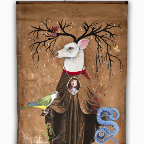 Stag of Sorrows   54 x 26
