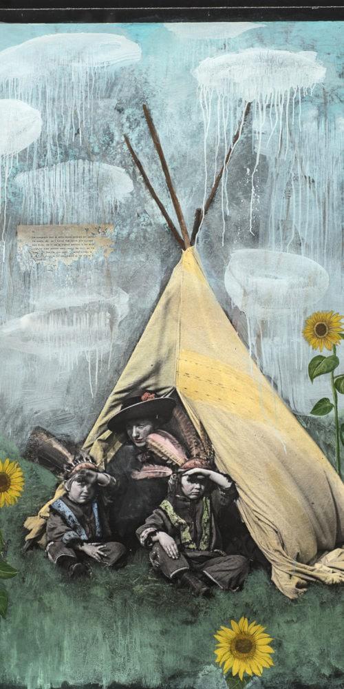 Ah, Sunflower | 60 x 40