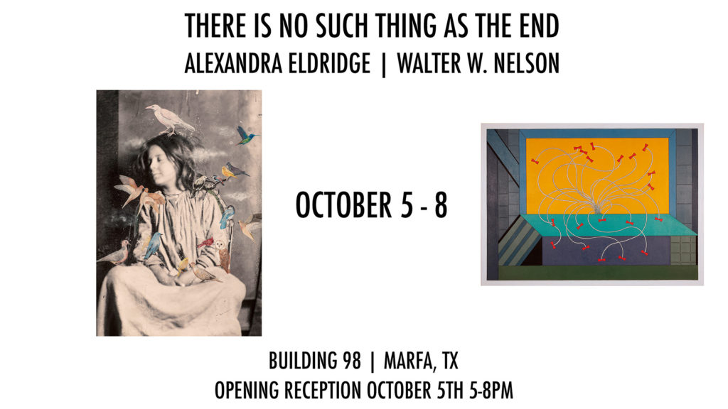 Alexandra's work to be featured in upcoming show in Marfa, TX