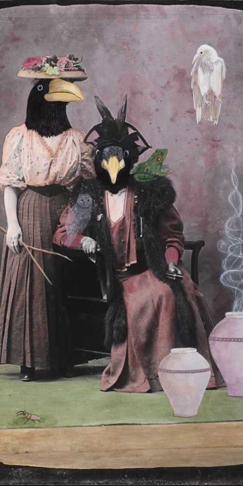 Rhabdomancer and Her Friend   60 x 40