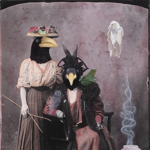 Rhabdomancer and Her Friend | 60 x 40