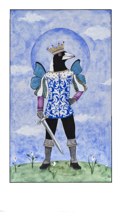 The King of Swords Card